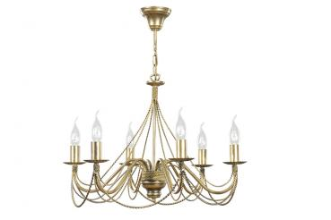 Kronleuchter Metall Für Kerzen ~ Sellon onlineshop klassischer kerzen kronleuchter flammig