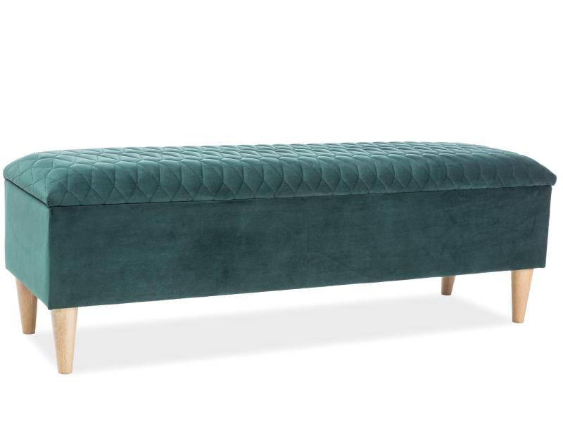 Polsterbett Doppelbett Grün Samt 160x200 Schlafzimmer luxuriös Bank  Nachttisch