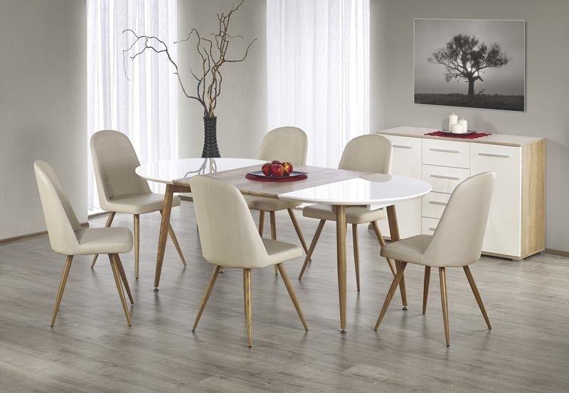 Sellon 24 Onlineshop Esszimmergruppe Esstisch Mit 6 Stühlen