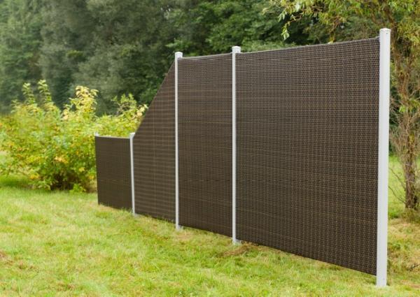 Sellon 24 Onlineshop Sichtschutz Pe Rattan Wand Zaun Paneel