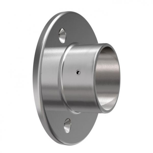 V2A Wandanschluss für Rohr 33,7 mm
