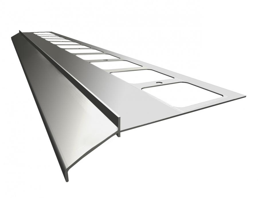 alu abtropf randprofil balkon terrasse begrenzung abschlu profil ecke verbinder ebay. Black Bedroom Furniture Sets. Home Design Ideas